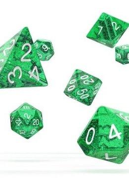 OD RPG Speckled 7 Dice Set - Green