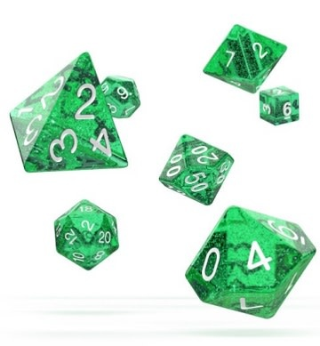 OD RPG Speckled 7 Dice Set - Green