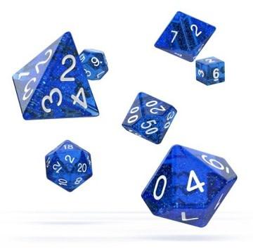 OD RPG Speckled 7 Dice Set - Blue