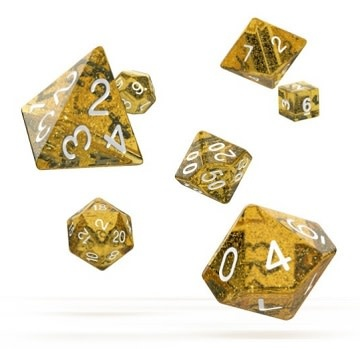OD RPG Speckled 7 Dice Set - Orange