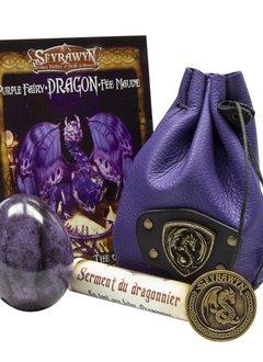 Dragon Egg Pouch Deluxe - Purple