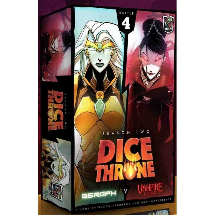 Dice Throne Season 2 - Vampire Lord vs Seraph