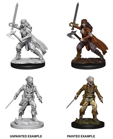 D&D Unpainted Mini - Vampire Hunters