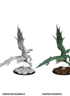 D&D Unpainted Minis - Young Green Dragon