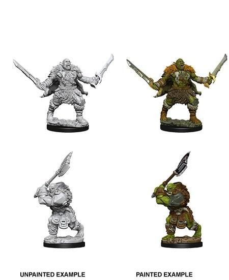 Pathfinder Unpainted Minis - Orcs