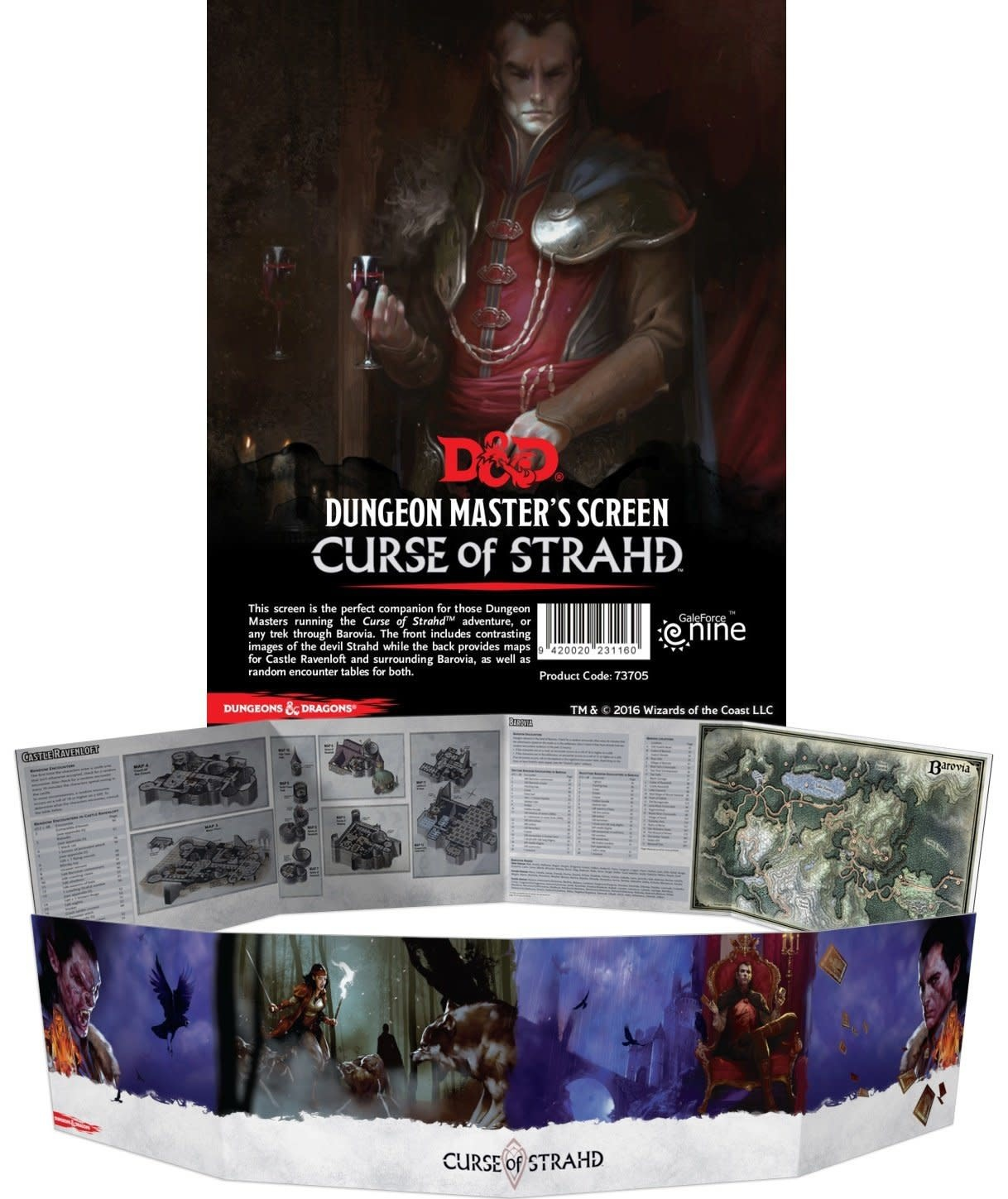 Curse of Strahd: Dungeon Master's Screen