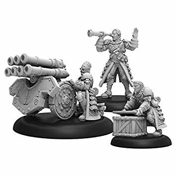Mercenaries - Steelhead Volley Gun Crew