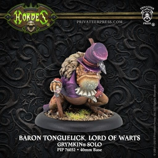 Grymkin: Baron Tonguelick, Lord of Warts