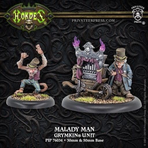 Grymkin - Malady Man