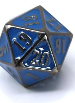 Metal MTG Roll Down Counter Sinister Blue