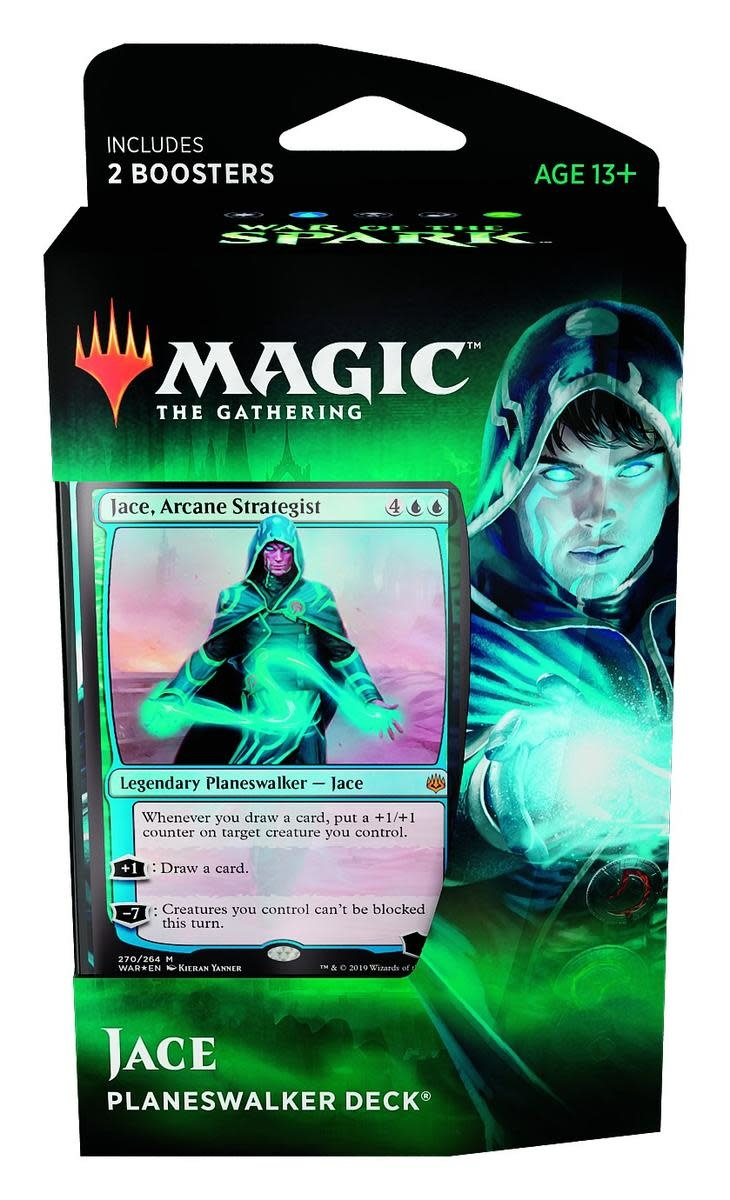 War of the Spark Jace Planeswalker Deck FR