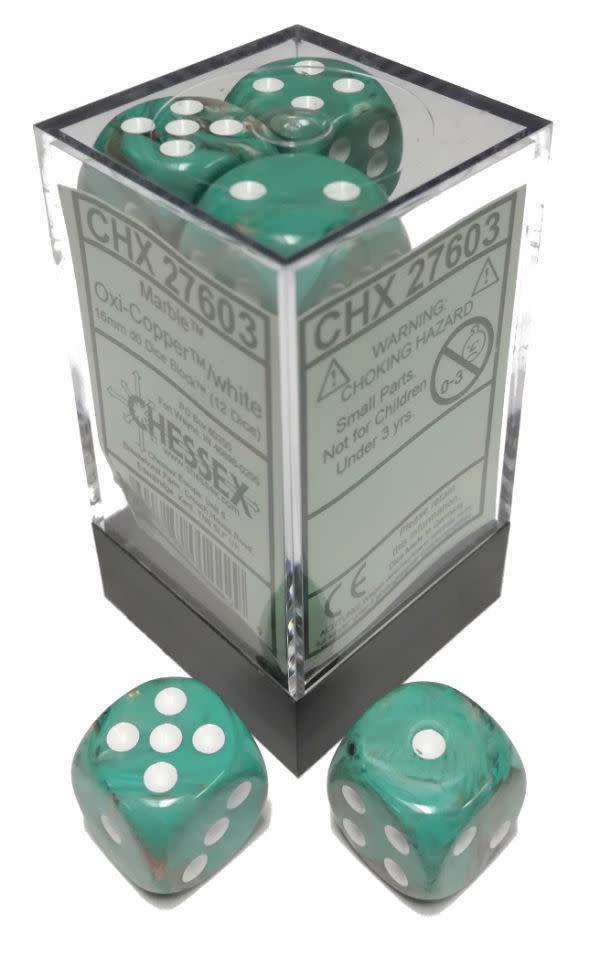 27603 - 12d6 Oxy-Copper avec Points Blancs