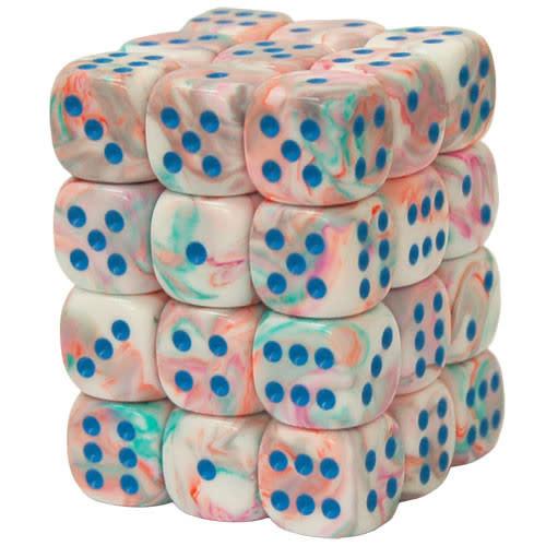 27944 - 36d6 Festive Pop Art avec Points Bleus