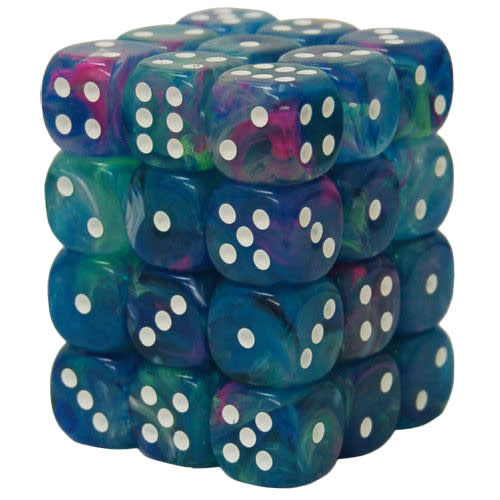 27946 - 36d6 Festive Waterlilly avec Points Blancs