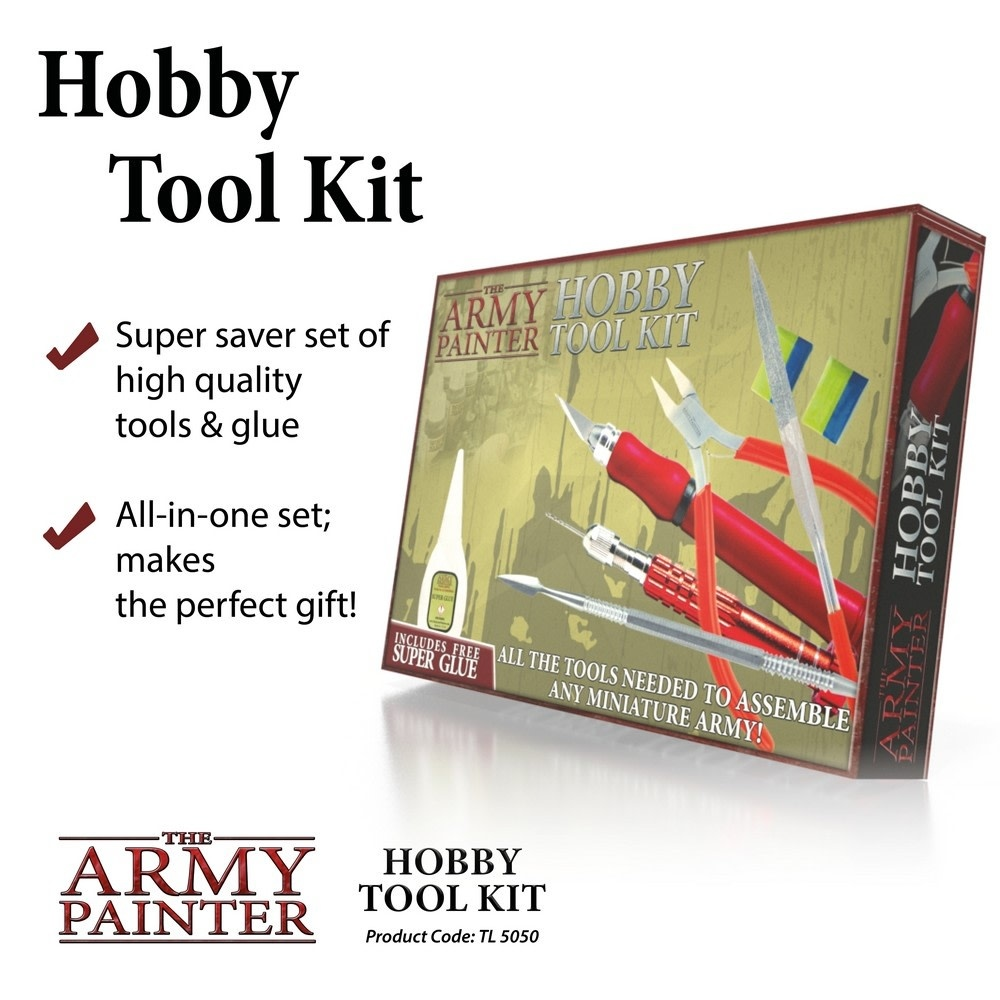 Army Painter Hobby Tool Kit 2019