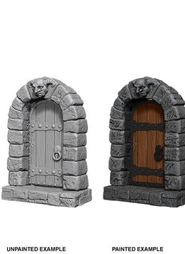 Unpainted Minis - Doors