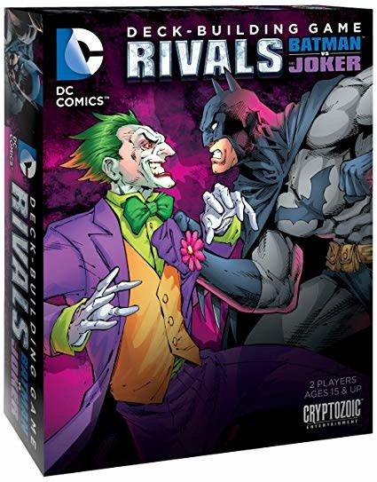 DC Deck Building Game Rivals FR