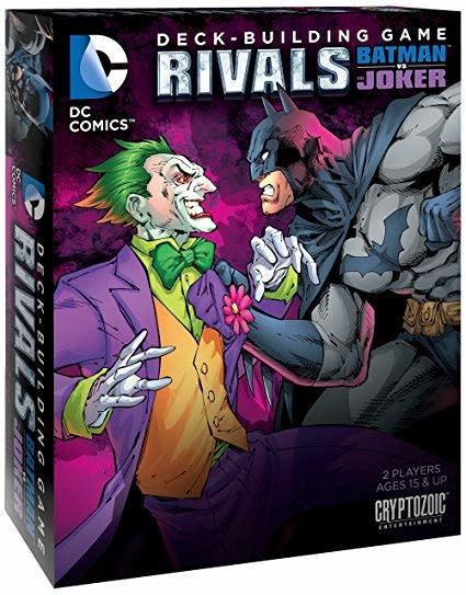 DC Deck Building Game Rivals (FR)