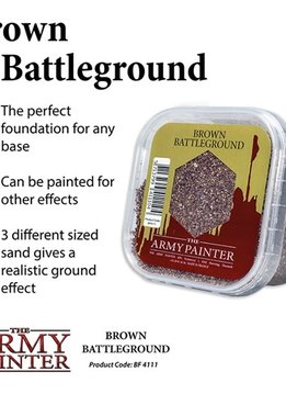 Army Painter Battlefield Brown Battleground