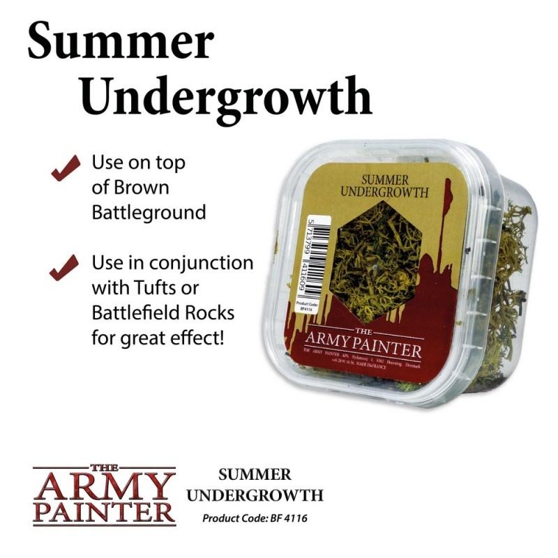 Army Painter Battlefield Summer Undergrowth