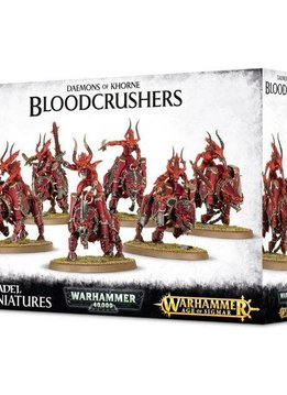 Daemons Of Khorne Bloodcrushers (Web Excl)