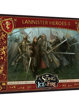 Song of Ice and Fire Lannister Heroes Box 2 (Sortie le 23 Mai)
