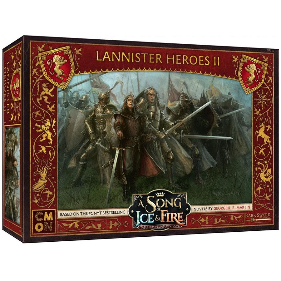 Song of Ice and Fire Lannister Heroes Box 2