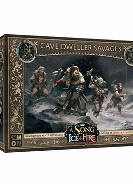 Song of Ice And Fire Free Folk Cave Dweller Savages
