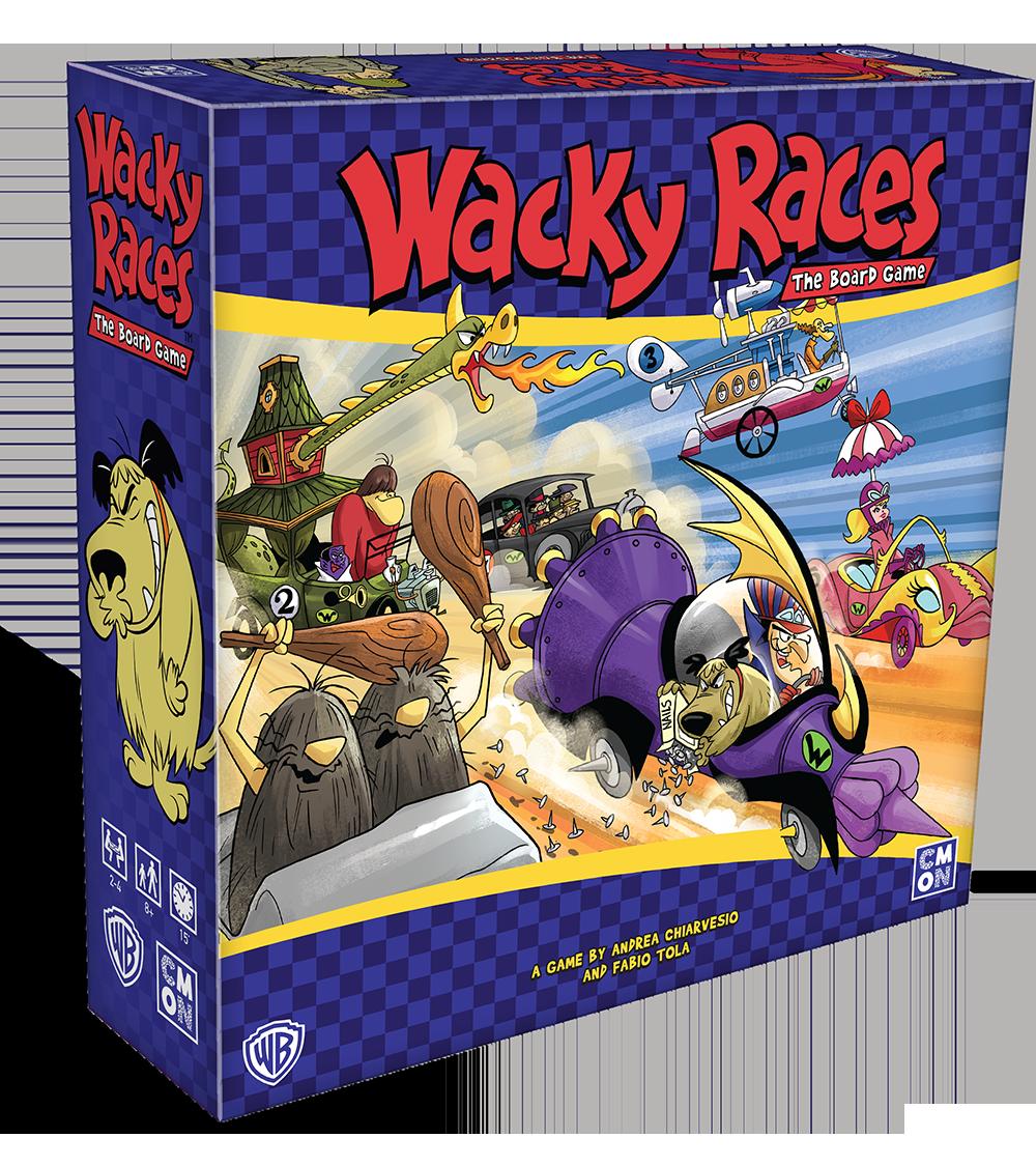 Wacky Races Board Game (Sortie le 23 Mai)