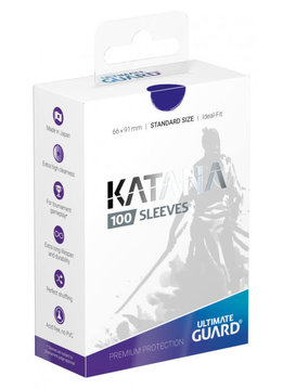 Katana Standard Blue 100ct Sleeves