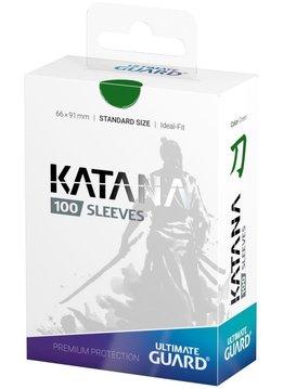 Katana Standard Green 100ct Sleeves