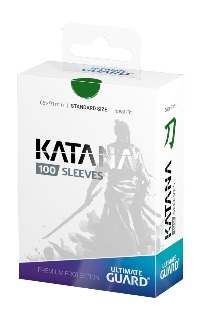 Katana Standard Green 100ct Sleeves
