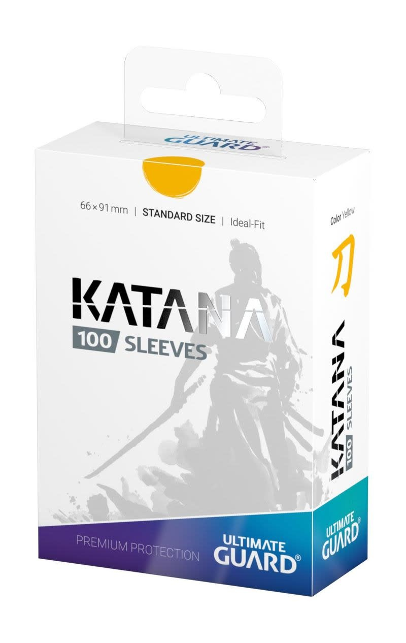 Katana Standard Yellow 100ct Sleeves