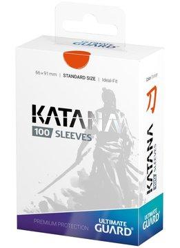 Katana Standard Orange 100ct Sleeves