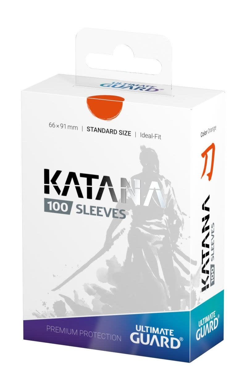 Katana Standard Orange 100ct Sleeves