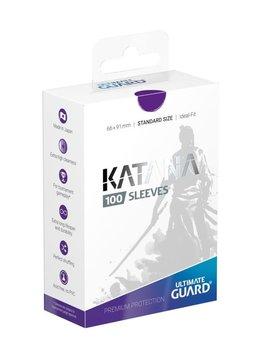 Katana Standard Purple 100ct Sleeves