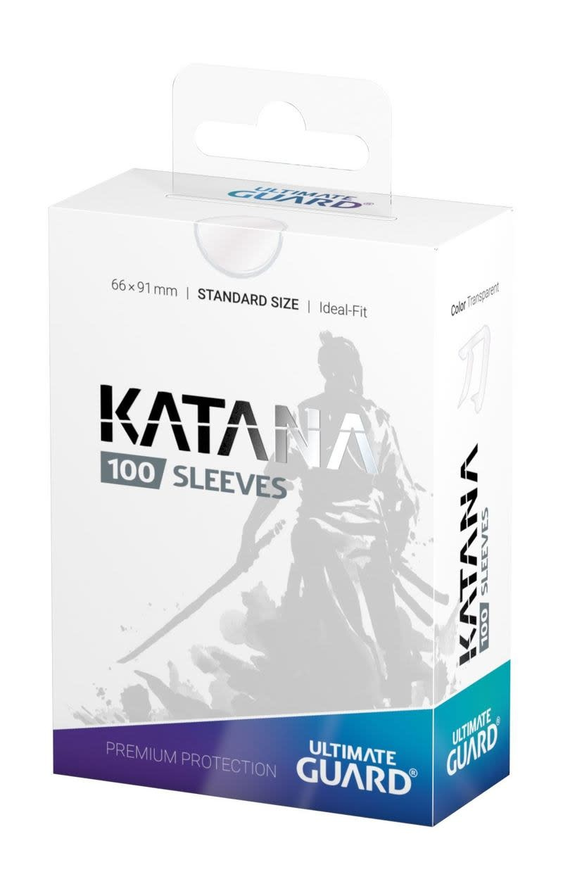 Katana Standard Transparent 100ct Sleeves