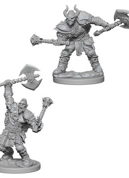 PF Unpainted Minis: Half-Orc Male Barbarian