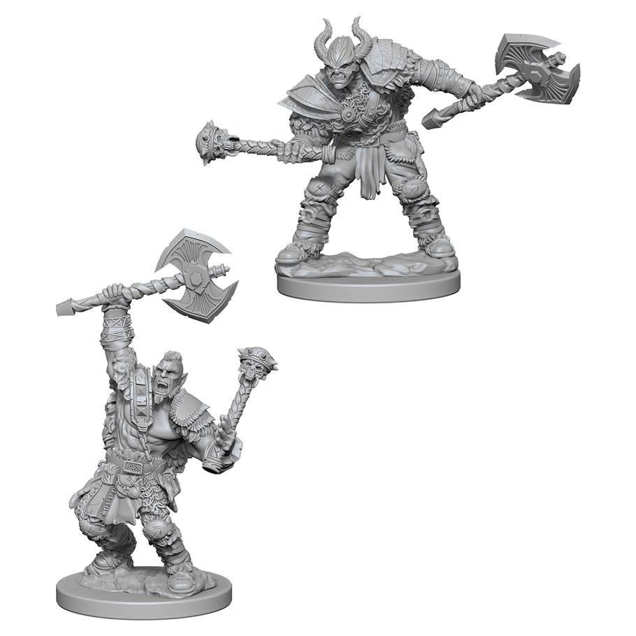PF Unpainted Minis: Half-Orc Male Barbarian