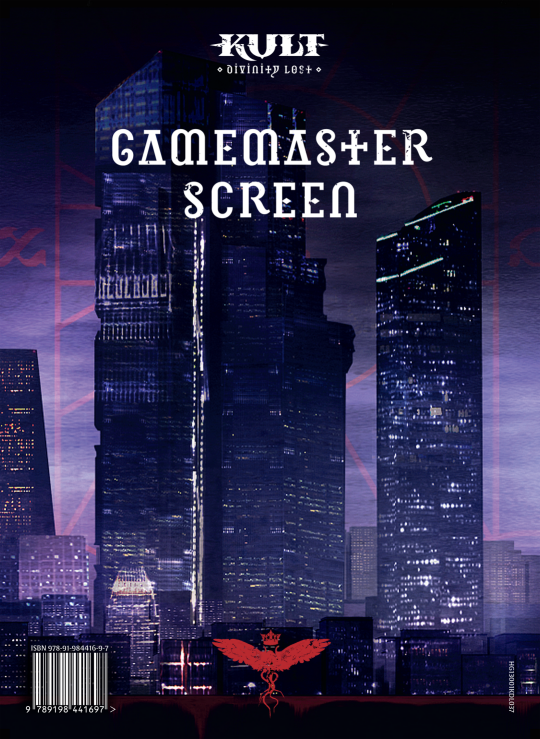 Kult RPG GM Screen