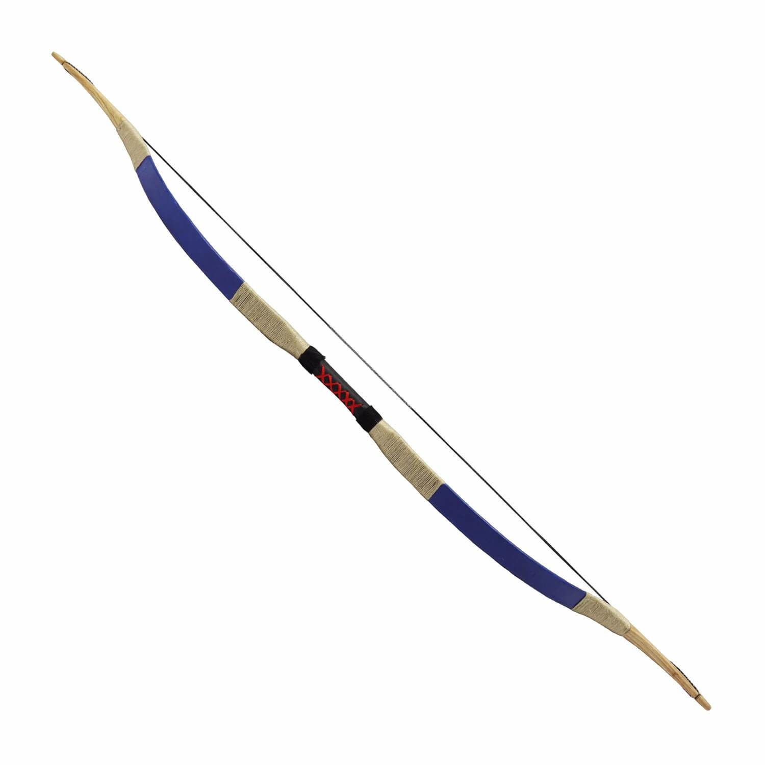 Traditional Recurve Bow (Bleu)