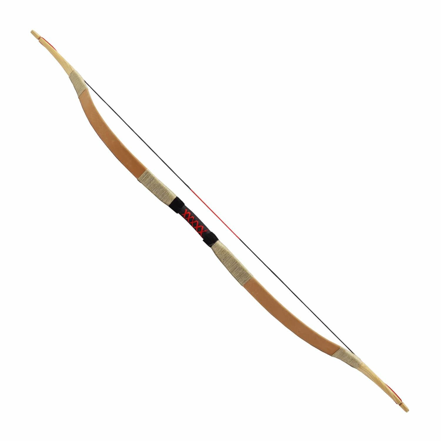 Traditional Recurve Bow (Brown)
