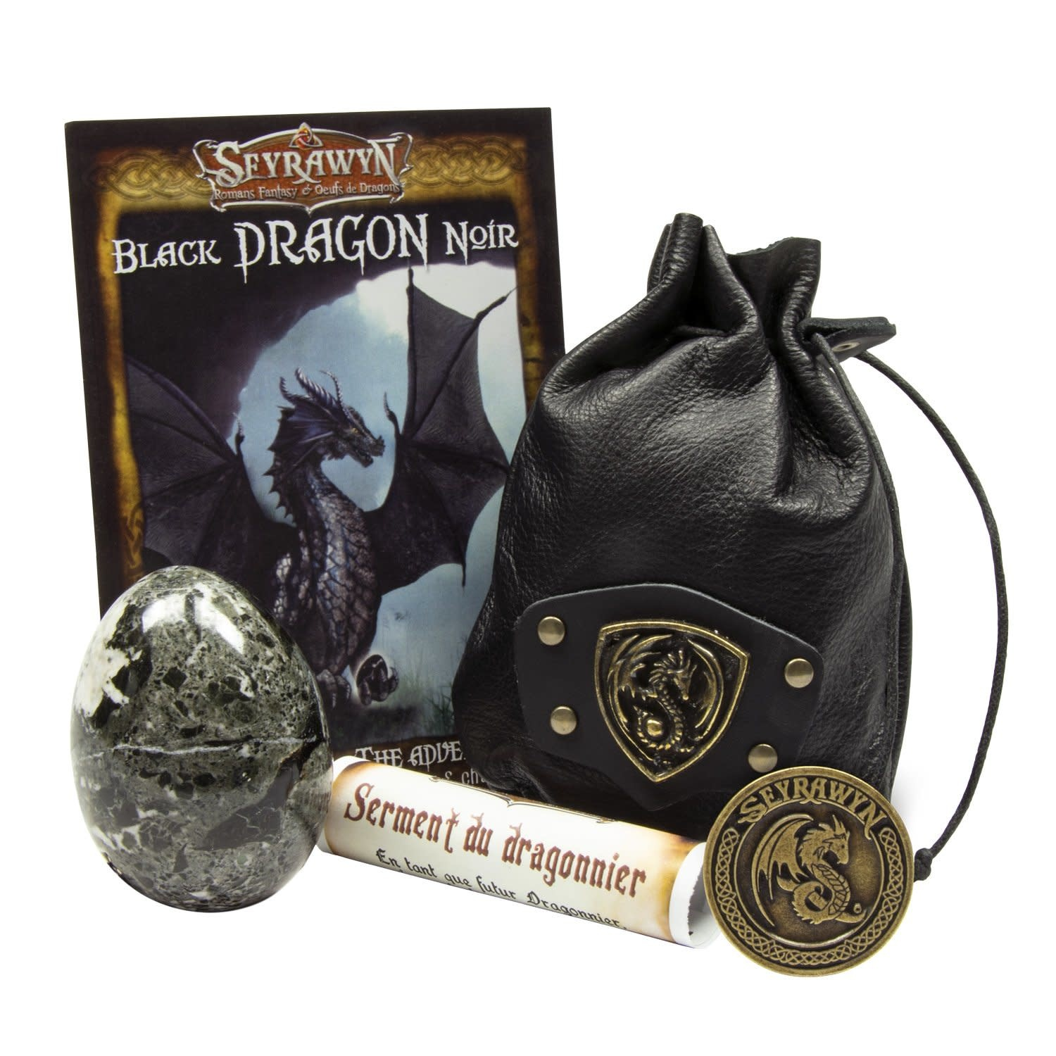 Dragon Egg Pouch Deluxe - Black