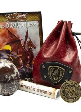Dragon Egg Pouch Deluxe - Red