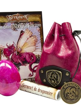Dragon Egg Pouch Deluxe - Pink