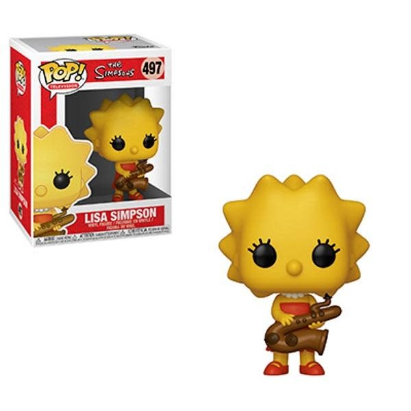 Pop! Simpsons Lisa Saxophone
