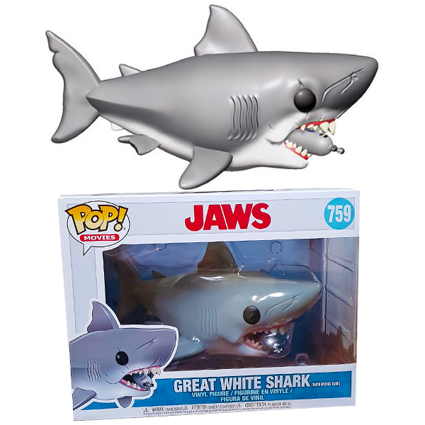 "Pop! Jaws Shark 6"" Diving Tank"