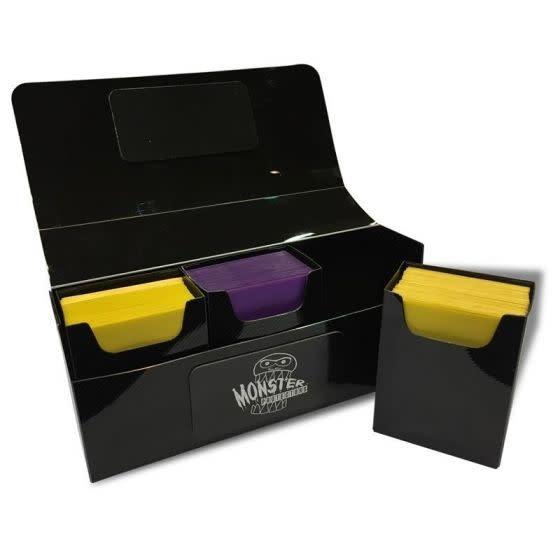 Tripple Deck Box - Matte Black