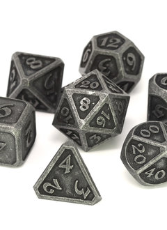 Metal Mythica Dice Set - Necropolis Dark Iron