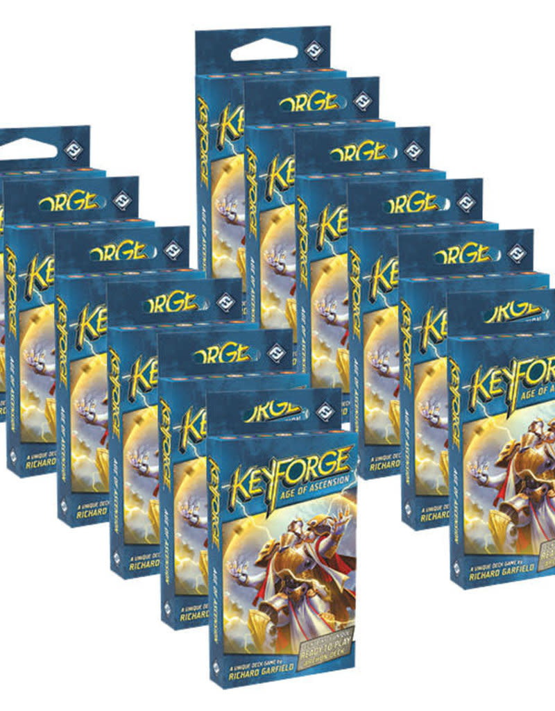Keyforge: Age of Ascension Deck Display